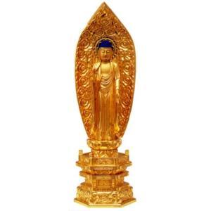 仏像 浄土宗 舟弥陀 3寸中七肌粉|butudan
