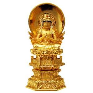仏像 真言宗 大日如来 2寸中七肌粉|butudan