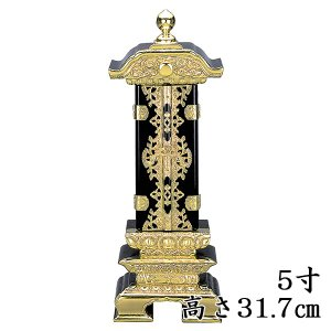 純前金二重回出位牌 5.0号(お取り寄せ)|butudan