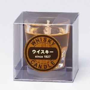 カメヤマローソク ウイスキ−ロックキャンドル|butudan