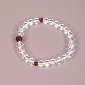 誕生石腕輪数珠(念珠)1月|butudan