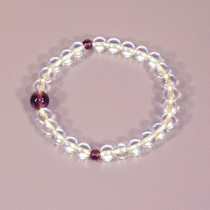誕生石腕輪数珠(念珠)2月|butudan