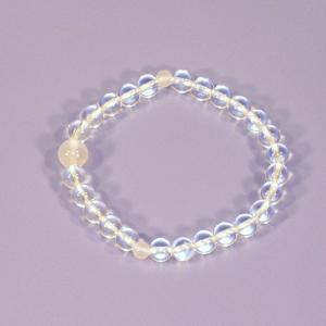 誕生石腕輪数珠(念珠)3月|butudan