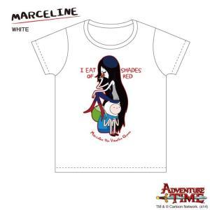 アドベンチャー・タイム Tシャツ マーセリン/白/レディース/M/ Adventure Time|buyersnetclub