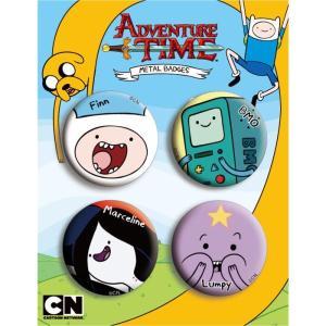 アドベンチャー・タイム 缶バッチ/Aセット Adventure Time|buyersnetclub
