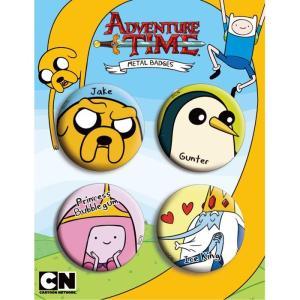 アドベンチャー・タイム 缶バッチ/Bセット Adventure Time|buyersnetclub