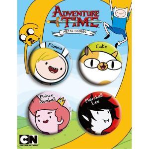 アドベンチャー・タイム 缶バッチ/Cセット Adventure Time|buyersnetclub