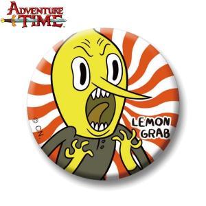 アドベンチャー・タイム 缶バッチ/レモングラブA/37mm/ Adventure Time|buyersnetclub