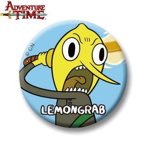 アドベンチャー・タイム 缶バッチ/レモングラブB/37mm/ Adventure Time|buyersnetclub