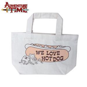 アドベンチャー・タイム ランチトートバッグ/ホットドッグ Adventure Time|buyersnetclub