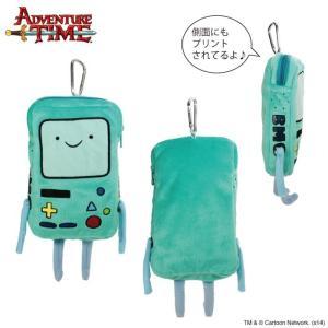 アドベンチャー・タイム ぬいぐるみモバイルケース ビーモ/BMO/ Adventure Time|buyersnetclub