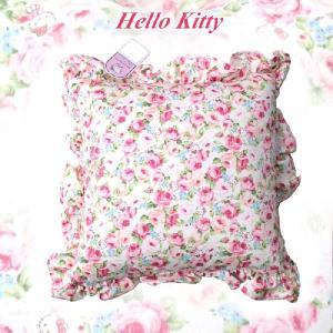 ハローキティ 角型クッション/パンセ ア ラ ローズ//Hello Kitty buyersnetclub