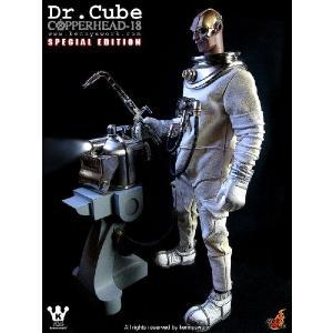 1/6スケールフィギュア ドクター・キューブ/スペシャル版/ コッパーヘッド18 ホットトイズ社製/Copperhead-18 Dr. Cube /Special Version/|buyersnetclub