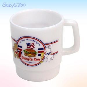 プラマグ/ハンバーガー/ホワイト//Suzy's Zoo/スージーズー/#SZN-500/ランチ//お弁当//水筒・コップ/|buyersnetclub