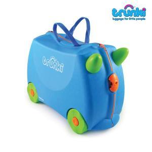 トランキ /乗って遊べる子供用スーツケース/ライドオン・トランキ/テランスブルー/trunki|buyersnetclub