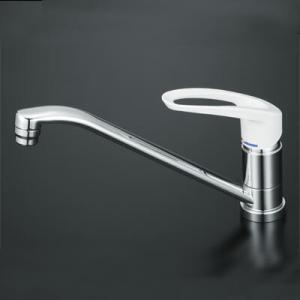 KVK KM5011 流し台用シングルレバー式シャワー付混合栓|buzaiya