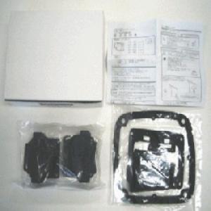 ご家庭の工具で簡単取替可能なエアーポンプ用部品です。  セット内容: ケーシングブロック2個、ダイヤ...