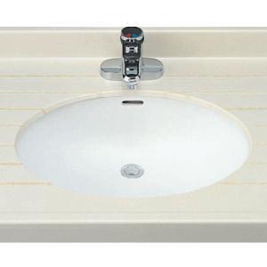 INAX はめ込みだ円形洗面器 L-2295 (アンダーカウンター式) L2295|buzaiya