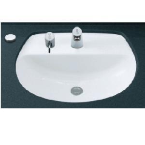 INAX はめ込みだ円形洗面器 L-2094CL (アンダーカウンター式) L2094CL|buzaiya