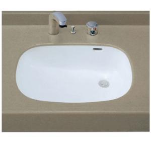 INAX はめ込みだ円形洗面器 L-2297 (アンダーカウンター式) L2297|buzaiya