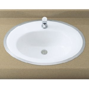 INAX はめ込みだ円形洗面器 L-2594FC (フレーム式) L2594FC|buzaiya
