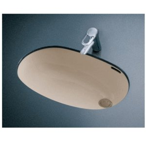 TOTO 楕円形洗面器 L587U (アンダーカウンター式)|buzaiya