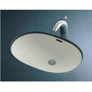 TOTO 楕円形洗面器 L546U (アンダーカウンター式)|buzaiya
