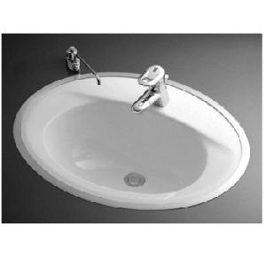 TOTO 楕円形洗面器 L525RCU (フレーム式)|buzaiya