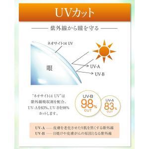 ネオサイト14 UV 2ウィーク コンタクトレンズ Neo Sight 14  2week アイレ|buzz|04