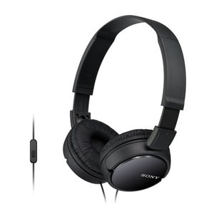 ソニー MDR-ZX110AP-B ブラック  ステレオヘッドホン