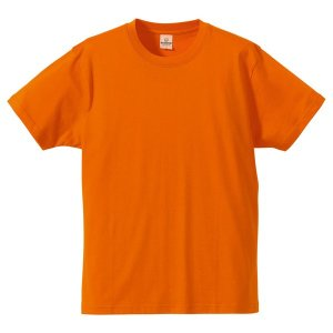 Tシャツ CB5806 オレンジ XSサイズ 〔5枚セット〕