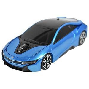 LANDMICE BMW i8シリーズ 無線カーマウス 2.4Ghz 1750dpi ブルー BM-Pi8-BL buzzhobby