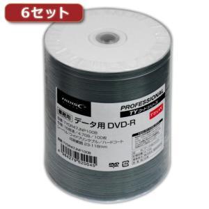 6セットHI DISC  DVD-R(データ用)高品質 100枚入 TYDR47JNP100BX6|buzzhobby
