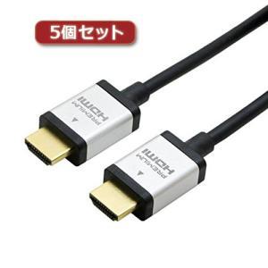 5個セット ミヨシ PREMIUM HDMIケーブル 2m 黒 HDC-P20/BKX5 buzzhobby