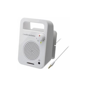 Audio-Technica オーディオテクニカ テレビ用モノラルアクティブスピーカー ホワイト AT-MSP56TV-WH|buzzhobby