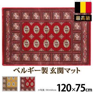 玄関マット 室内 ベルギー製ウィルトン織玄関マット 〔ブルージュ〕 120x75cm エントランスマット|buzzhobby