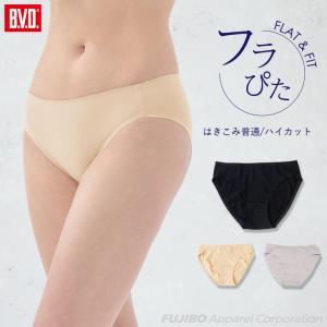 ハイカットショーツ BVD レディース フラぴた 足口 WEB限定 パンツ 女性 下着|B.V.D.e-shop メーカー直営店