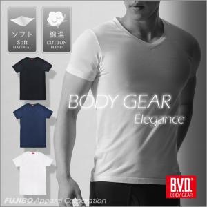 BVD BODY GEAR エレガンス VネックTシャツ メンズインナー アンダーウェア bvd