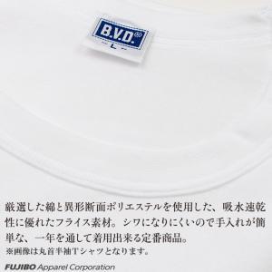 Tシャツ 2枚セット Vネック BVD 吸水速...の詳細画像1