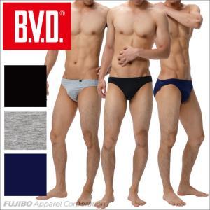 ビキニ ソリッド BVD M,L,LLサイズ/ブリーフ/アンダーウェア/綿ベア天竺|bvd