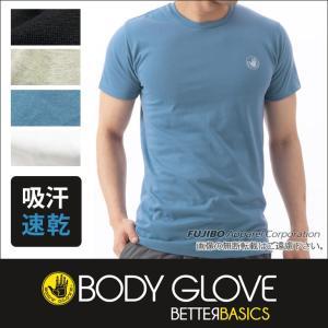 BODY GLOVE ボディグローブ 吸汗速乾 丸首半袖Tシャツ/インナー /メンズ