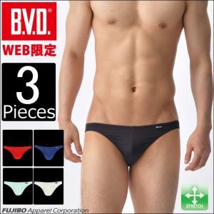 ビキニ ブリーフ 3枚セット BVD インゴム  メンズインナー アンダーウェア|bvd