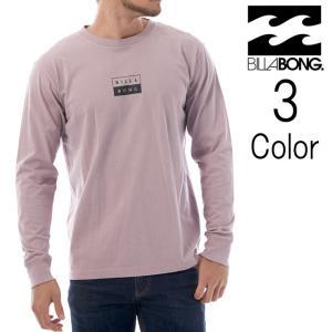 おしゃれ (USAコットン) ロンT [メンズ] [ビラボン] プリント Tシャツ [ AI012-050 / ONETIME LS TEE ] 長袖