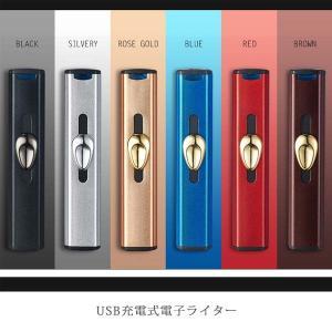 電子ライター USB充電式 シンプル・コードレス 手軽で使いやすいUSBライター GBPUSBSIMPLE