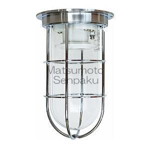 松本船舶照明器具 屋外灯 R1-DK-S (R1号デッキ シルバー) LED(C-DIRECT)