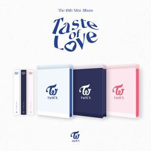 10th Mini Album [Taste of Love] In Love Ver./TWICE※もれなく初回特典&ポスタープレゼント(ポスターは折って発送) c-factory
