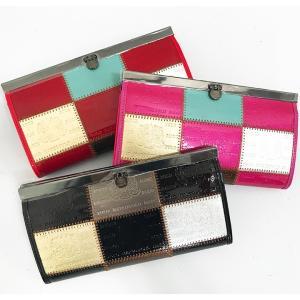 おしゃれで高級感のあるレディース財布 長財布ーMarco Poloがま口財布|c-factory