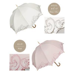 日傘 長日傘 女優日傘 UVカット 完全遮光 日傘 1級遮光 遮熱 涼しい 刺繍 晴雨兼用 日傘 スワロフスキー ギフト 母の日 贈り物 c-modern2 16
