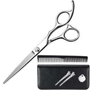LOFEE 散髪はさみ 6crステンレス鋼の毛のはさみ ハサミ シザー 左右 プロ 初心者 美容師 理容師 セルフカット|c-o-s-shop