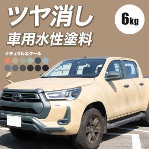車用 水性塗料 Car Paint 6kg Dippin' Paint(ディッピン ペイント) 車塗料 ペンキ つや消し マット|c-ranger